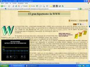 hipertexto World Wide Web WWW