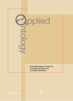 Applied Ontology portada
